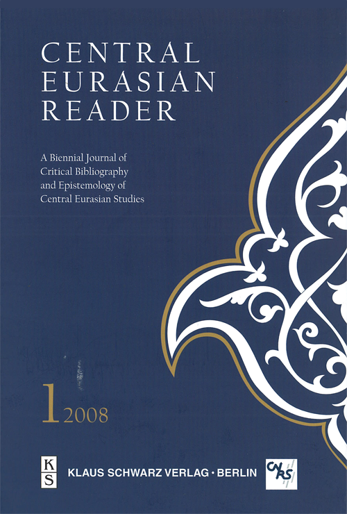 Central Eurasian Reader Vol.1