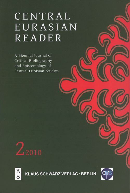 Central Eurasian Reader Vol.2